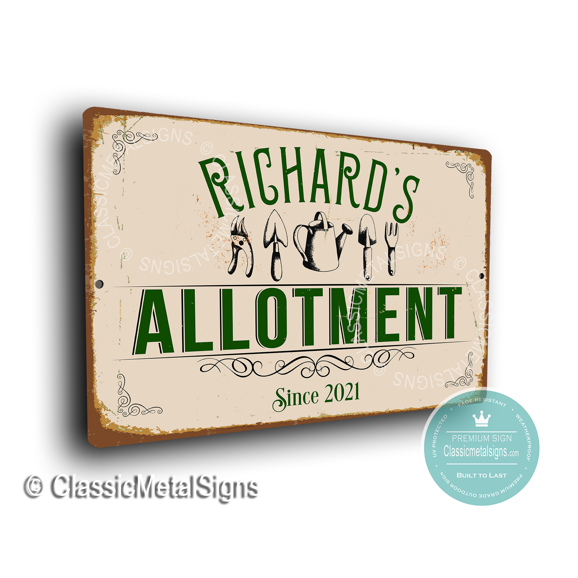 Allotment Signs