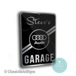 Audi Garage Signs