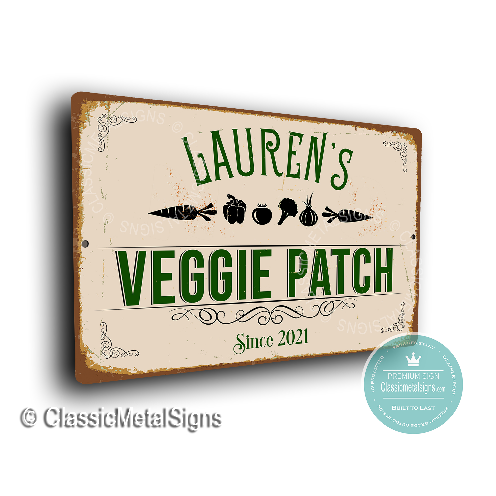 Custom Veggie Patch Signs
