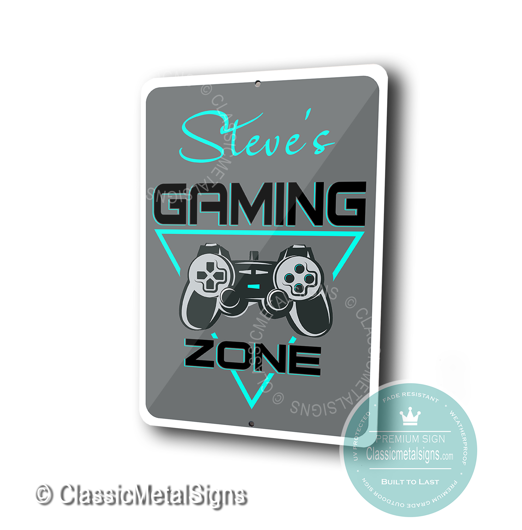 Gaming Zone Signs