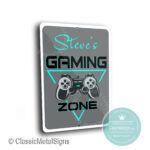 Gaming Zone Sign