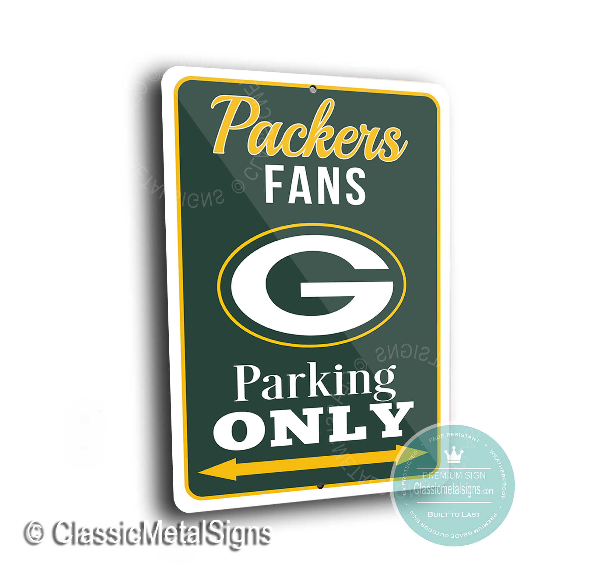 Greenbay Packers Parking Signs