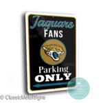 Jacksonville Jaguars Parking Signs
