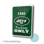 New York Jets Parking Only Sign