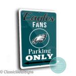 Philadelphia Eagles Parking Sign