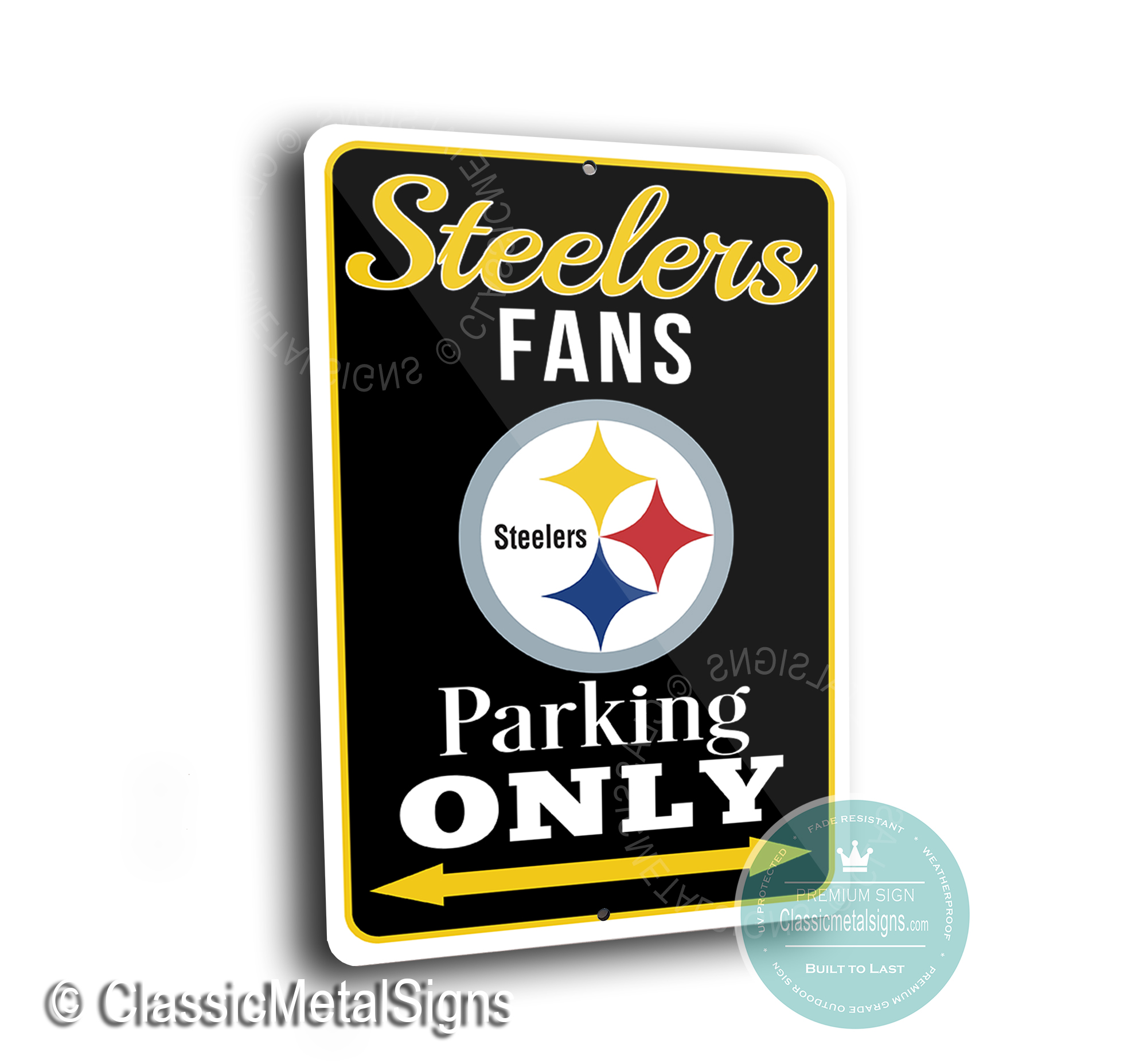 Pittsburgh Steelers Parking Signs