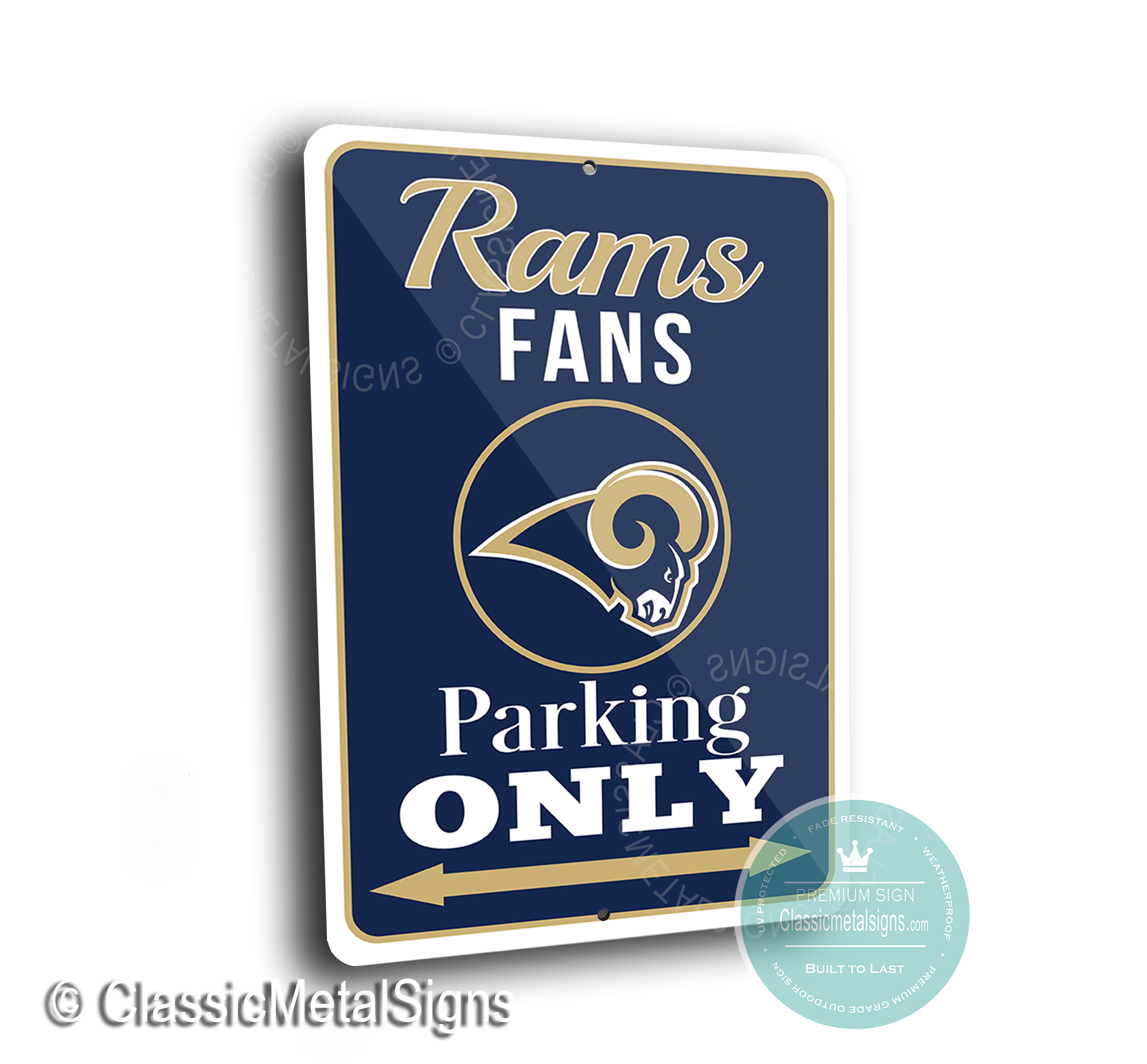 St Louis Rams Parking Signs