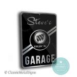 Buik Garage Sign