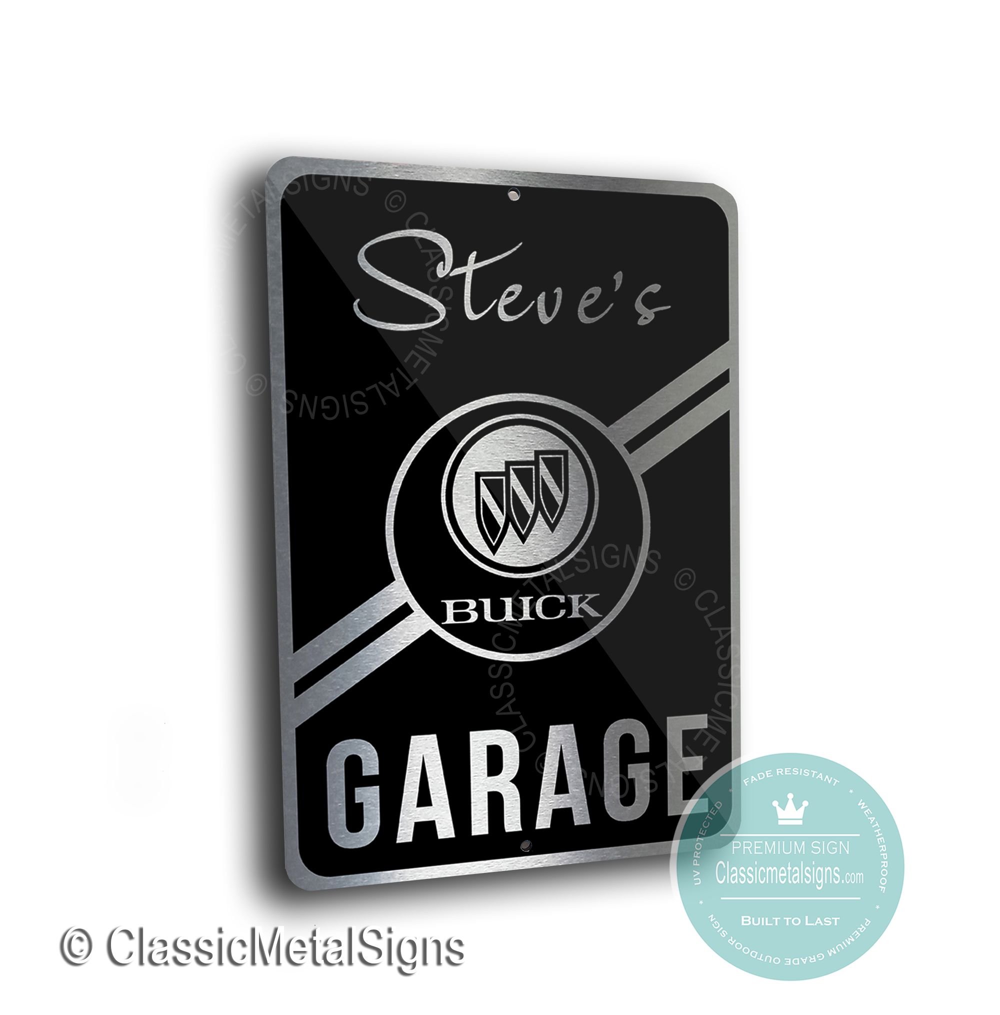 Buik Garage Signs