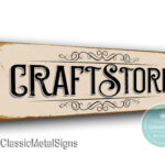 Craft Store Signs