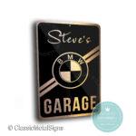 Custom BMW Garage Signs
