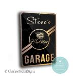 Custom Cadillac Garage Signs