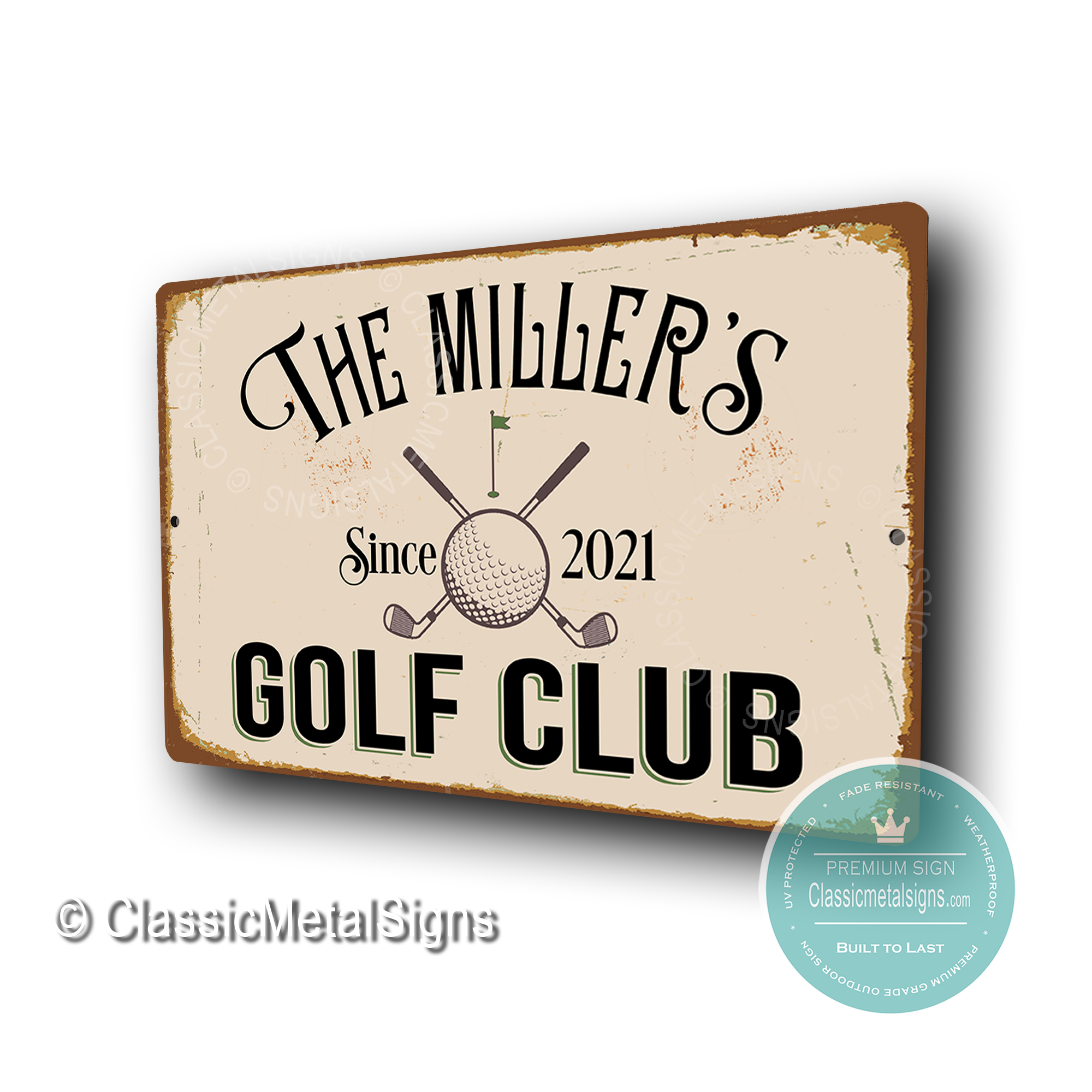 Custom Golf Club Signss