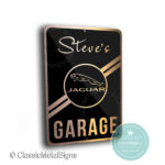 Custom Jaguar Garage Signs