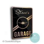 Custom Morgan Garage Signs
