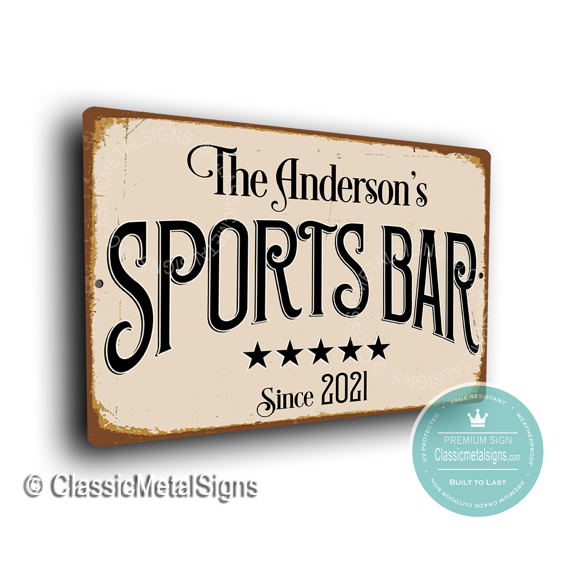 Custom Sports Bar Signs