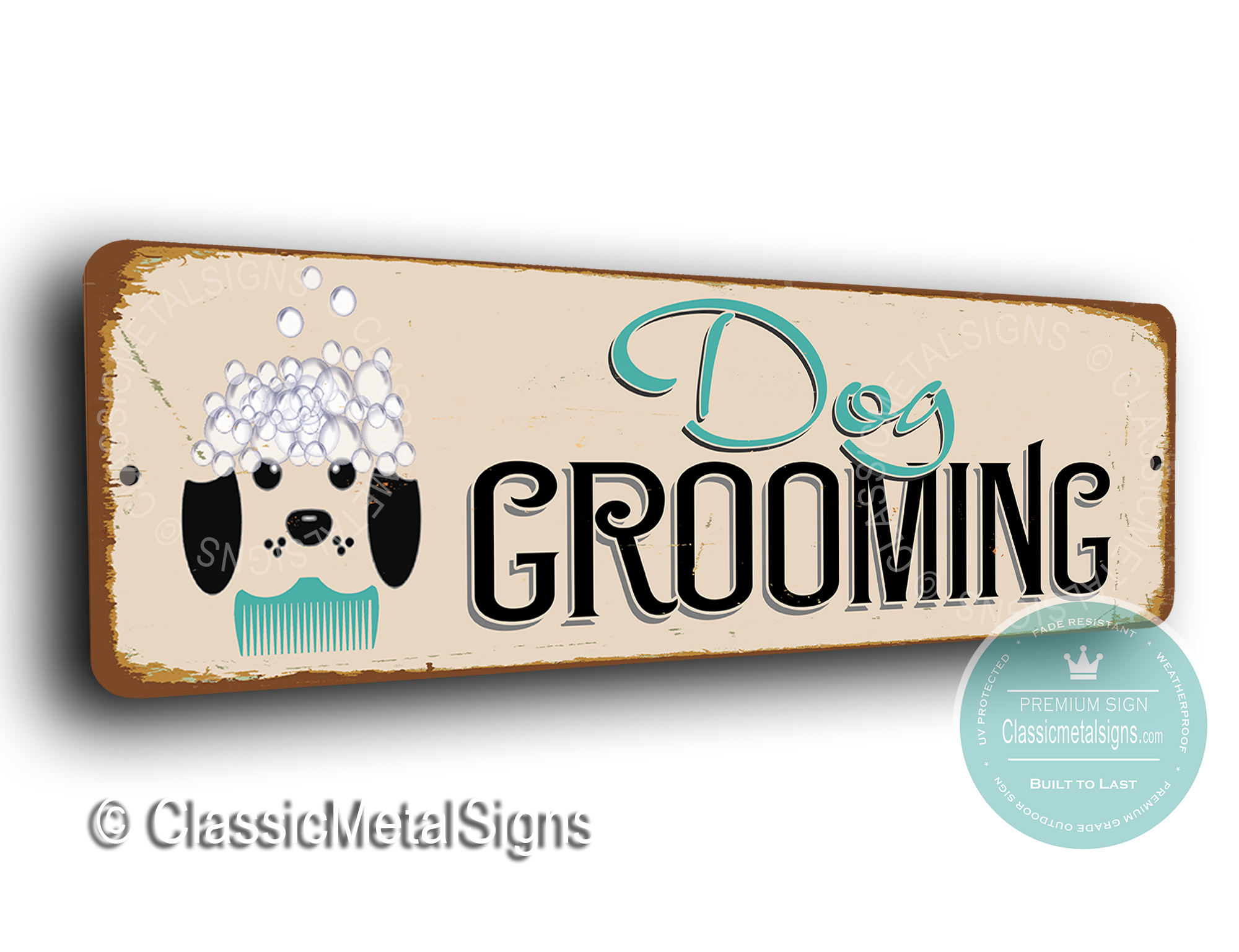 Dog Grooming Signs