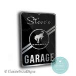 Ford Bronco Garage Sign
