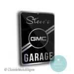 GMC Garage Sign