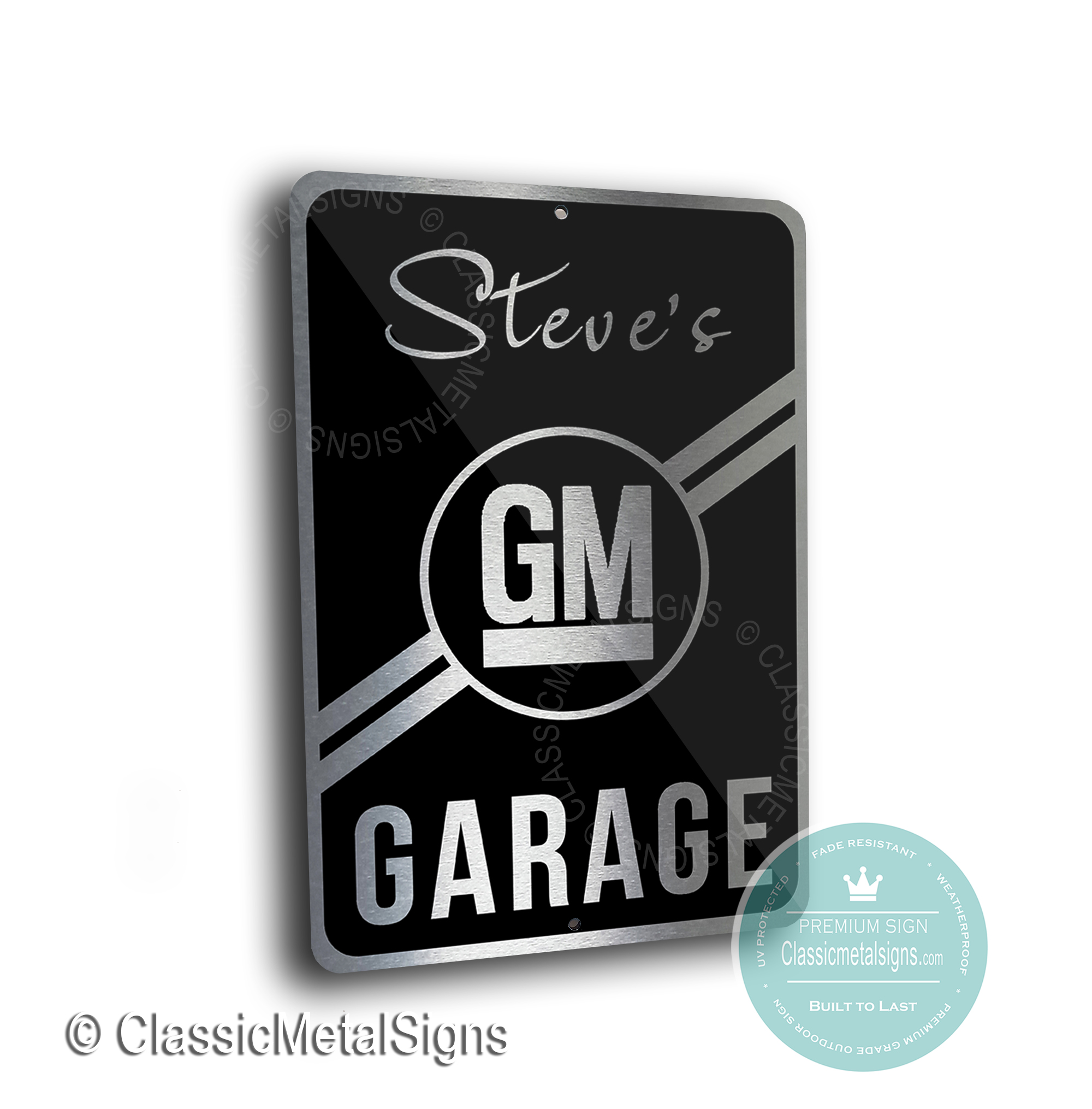 General Motors Garage Signs