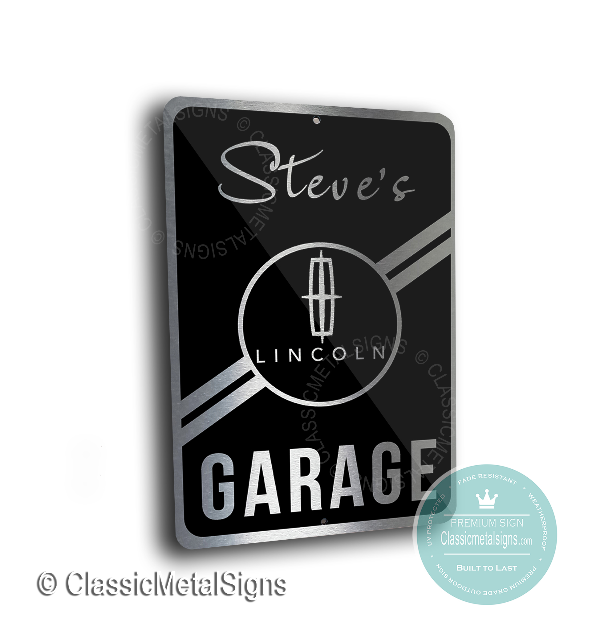 Lincoln Garage Signs