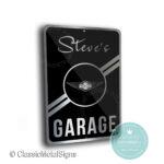 Morgan Garage Sign