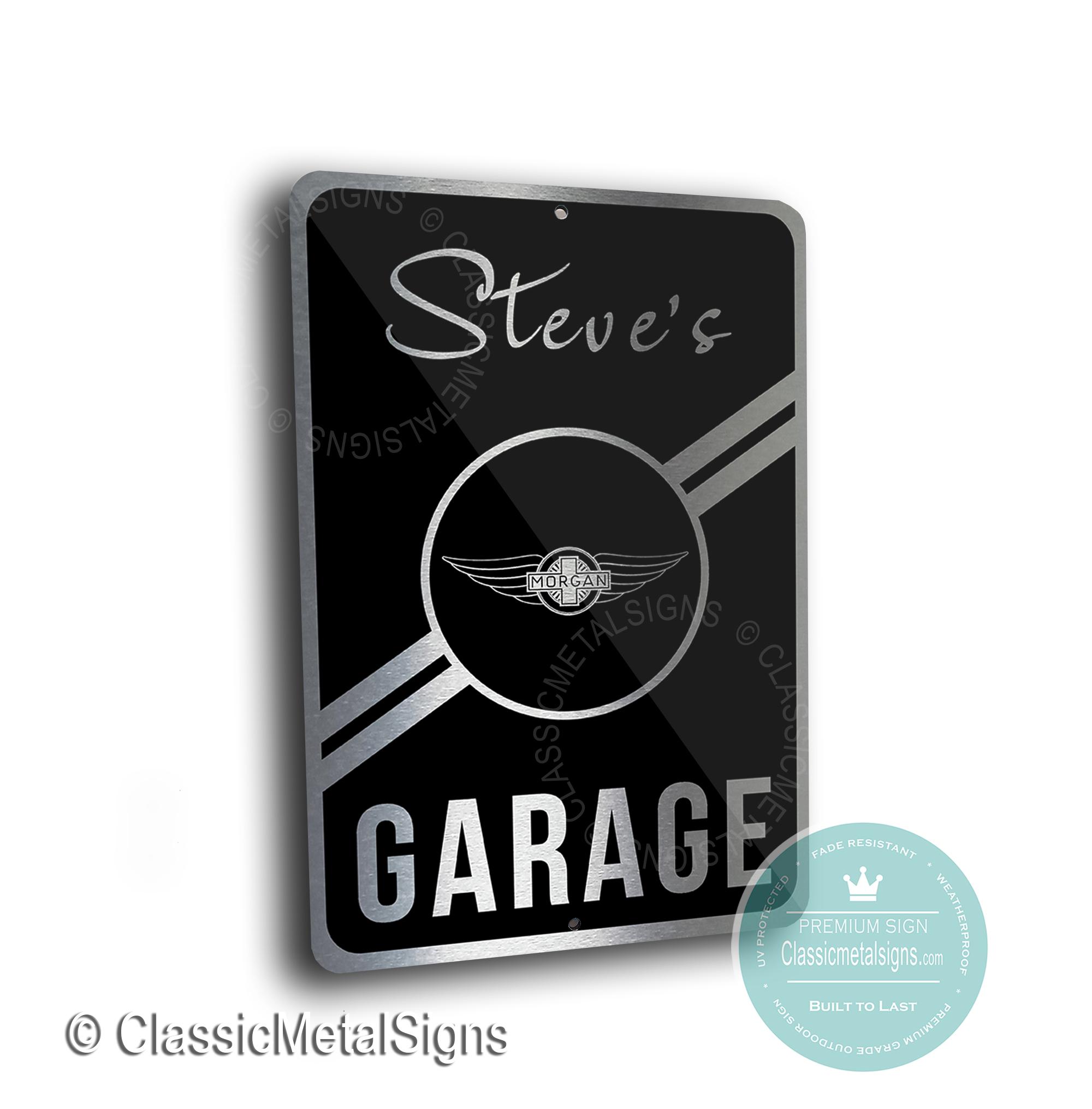 Morgan Garage Signs