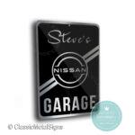 Nissan Garage Sign