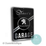 Peugeot Garage Sign