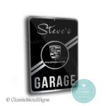 Porsche Garage Sign