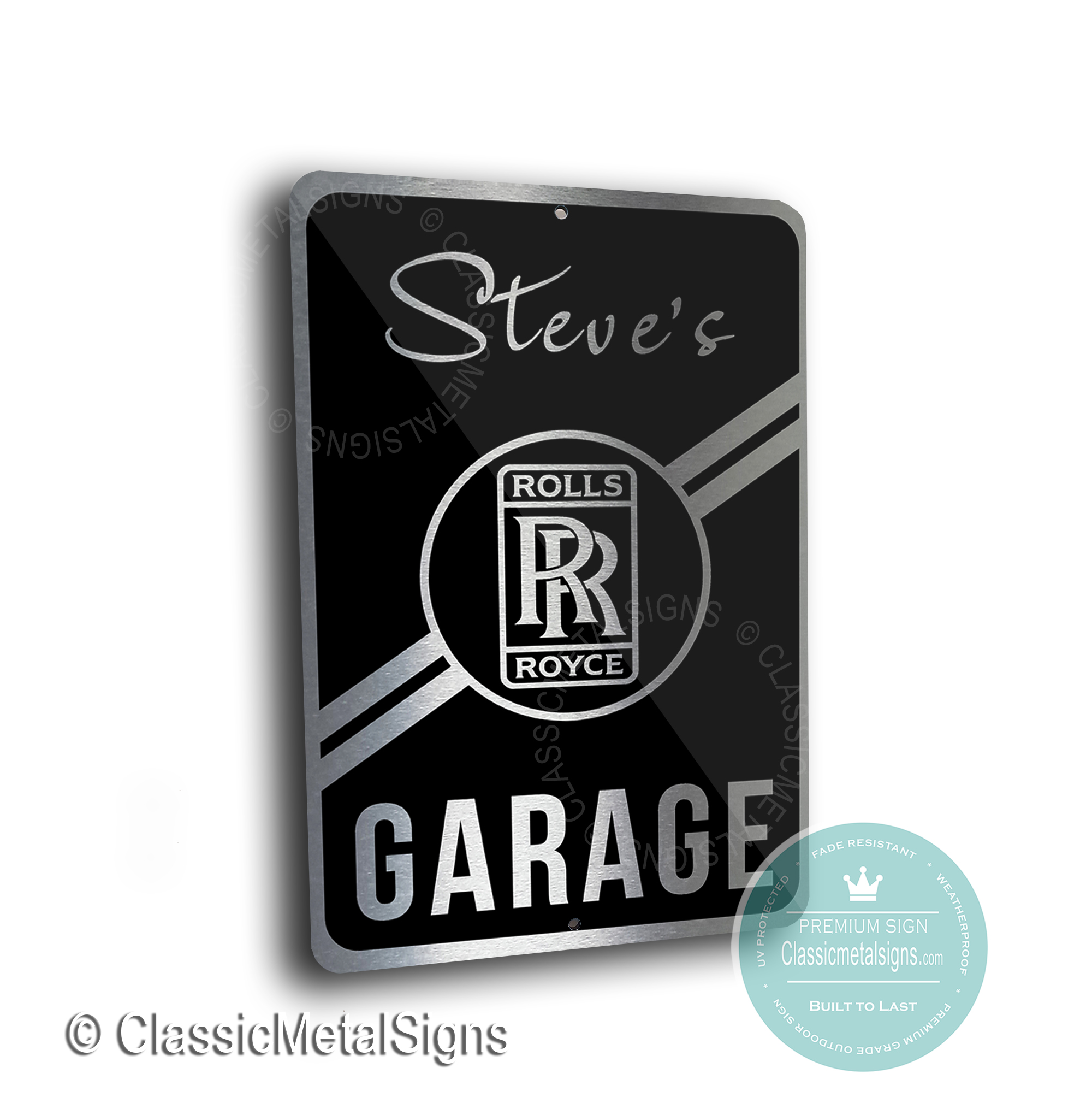 Rolls Royce Garage Signs