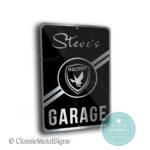 Rossion Garage Sign