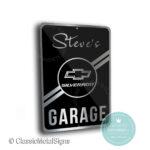 Silverado Garage Sign