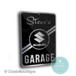 Suzuki Garage Sign