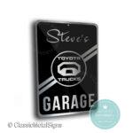 Toyota Trucks Garage Sign