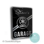 Yamaha Garage Sign