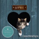 Personalized Cat Name Signs