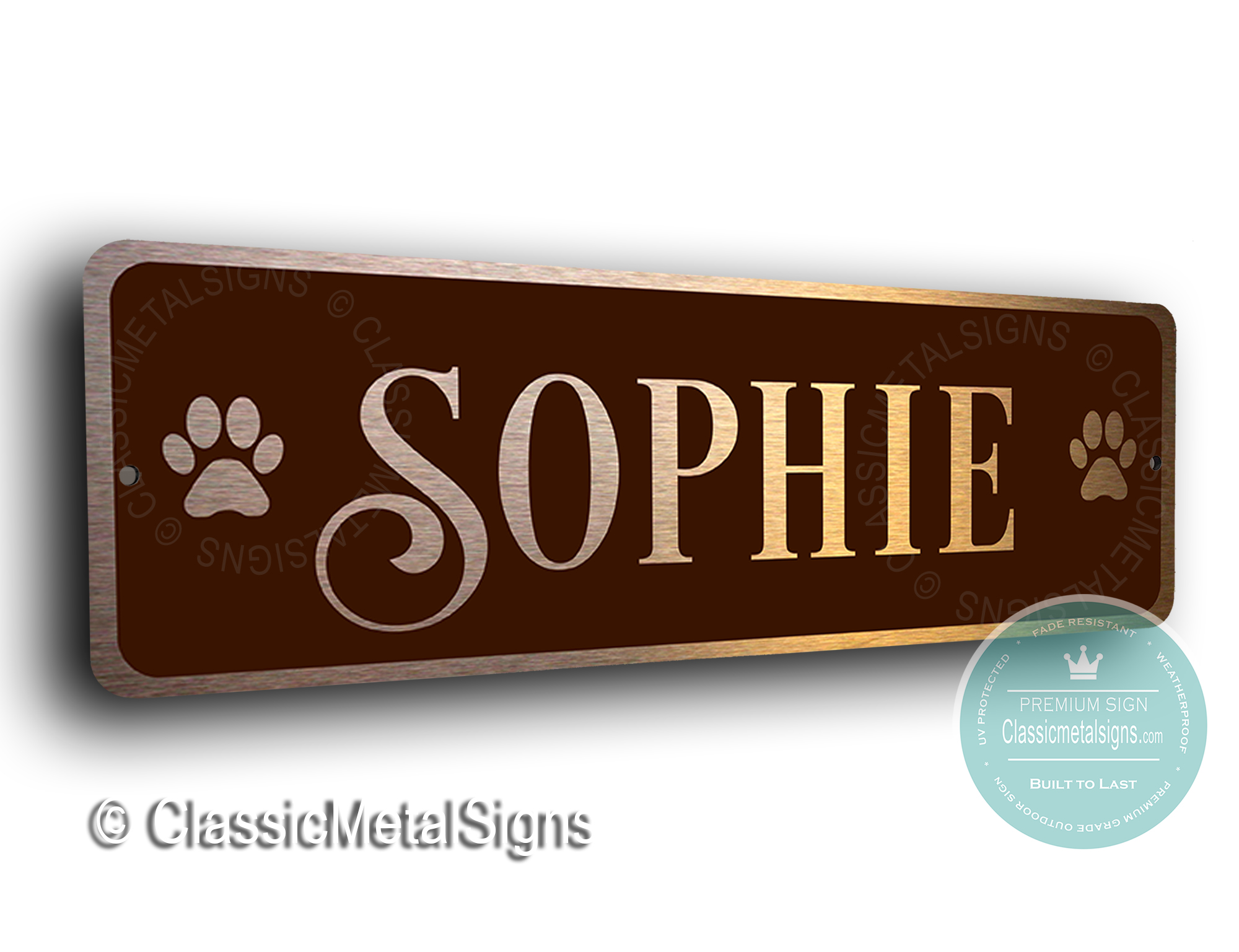 Custom Cat Name Sign