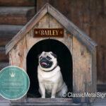 Custom Dog Name Sign