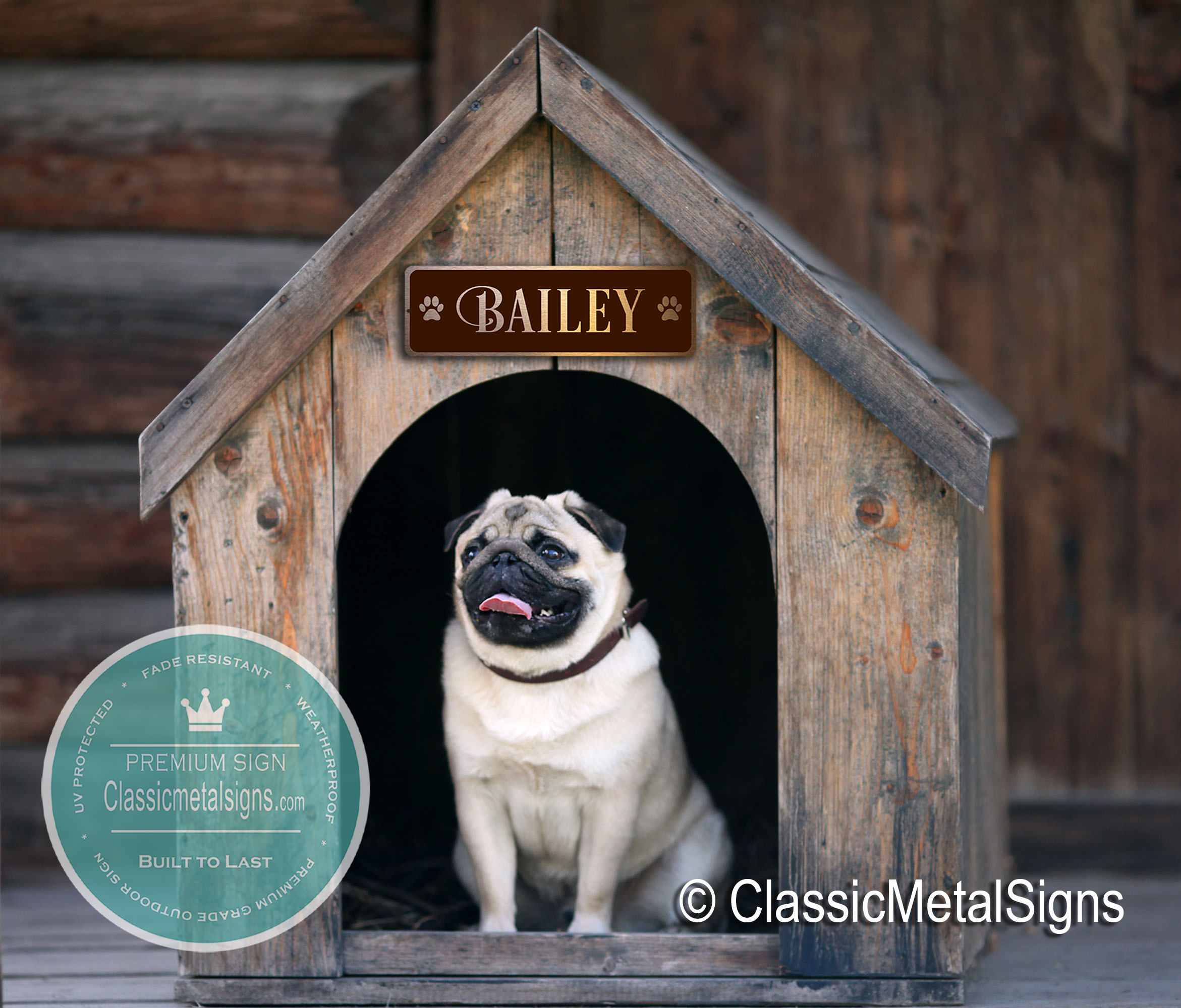 Custom Dog Name Signs