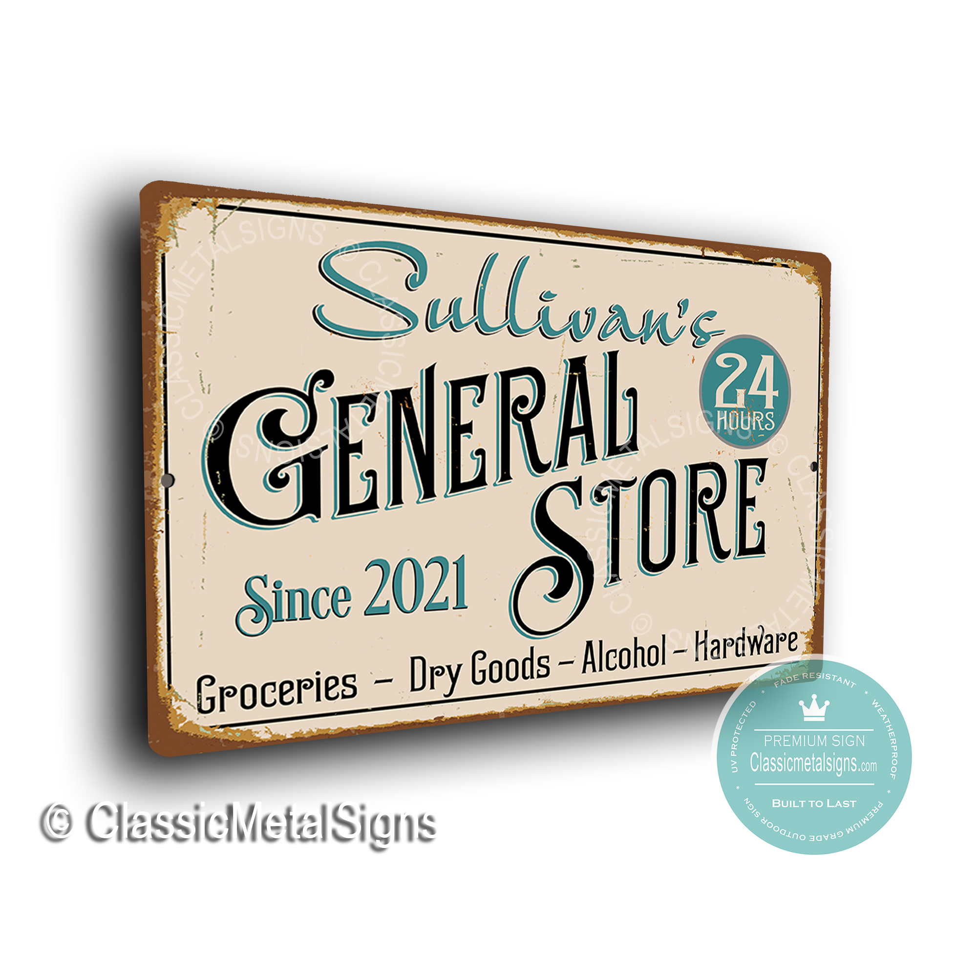 General Store Signs