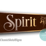 Personalized Horse Name Sign