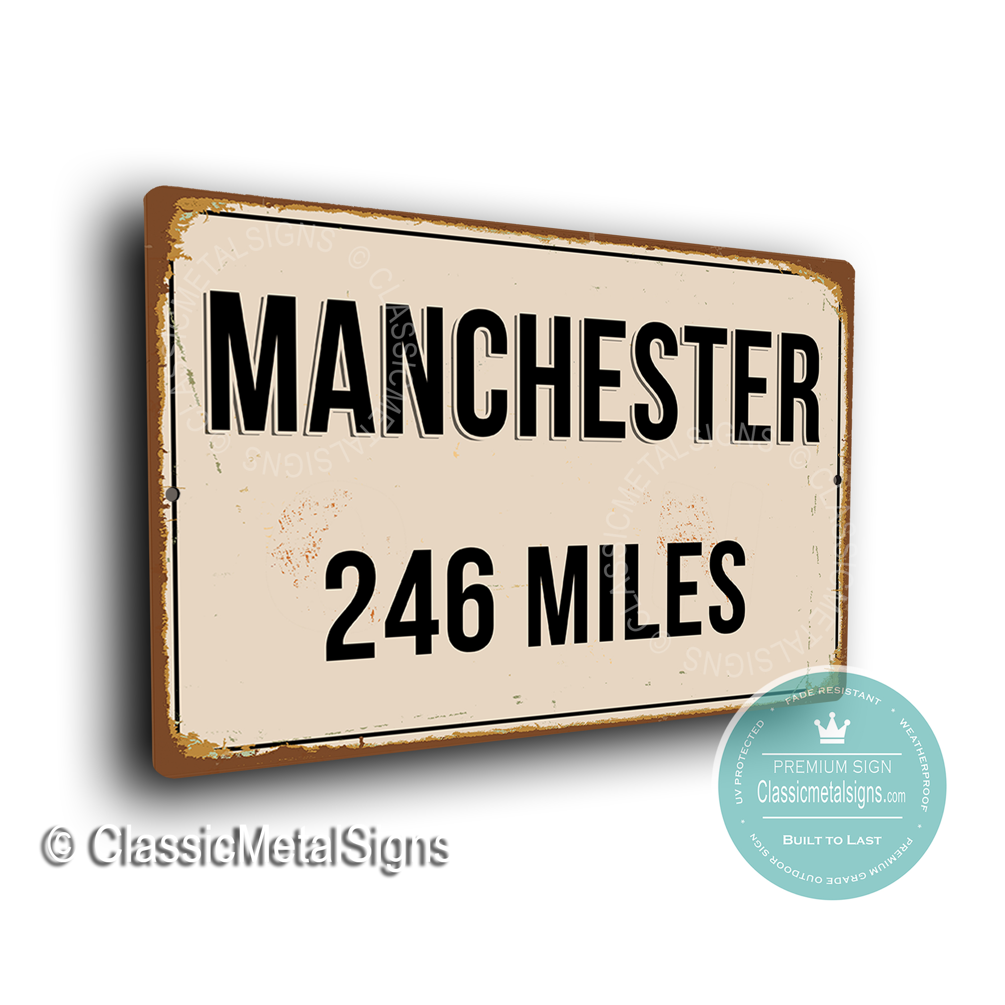 Manchester Street Signs
