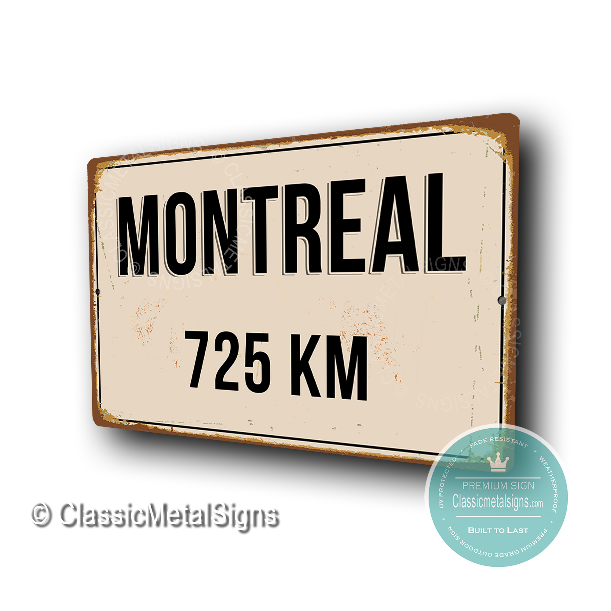 Montreal Street Signs