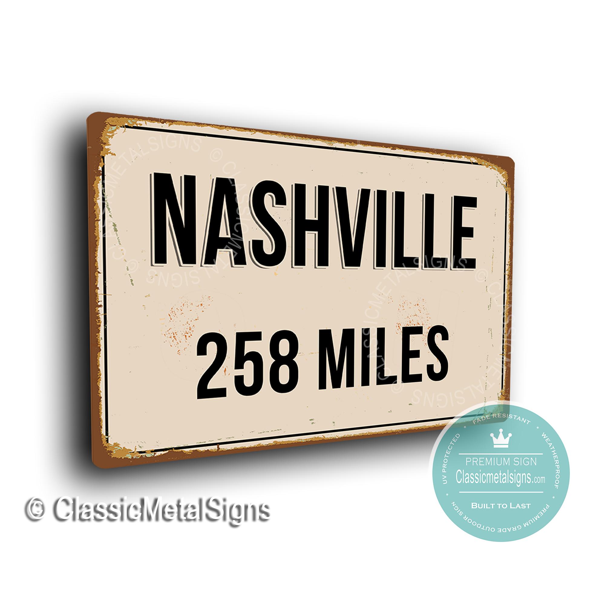 Nashville Street Sign