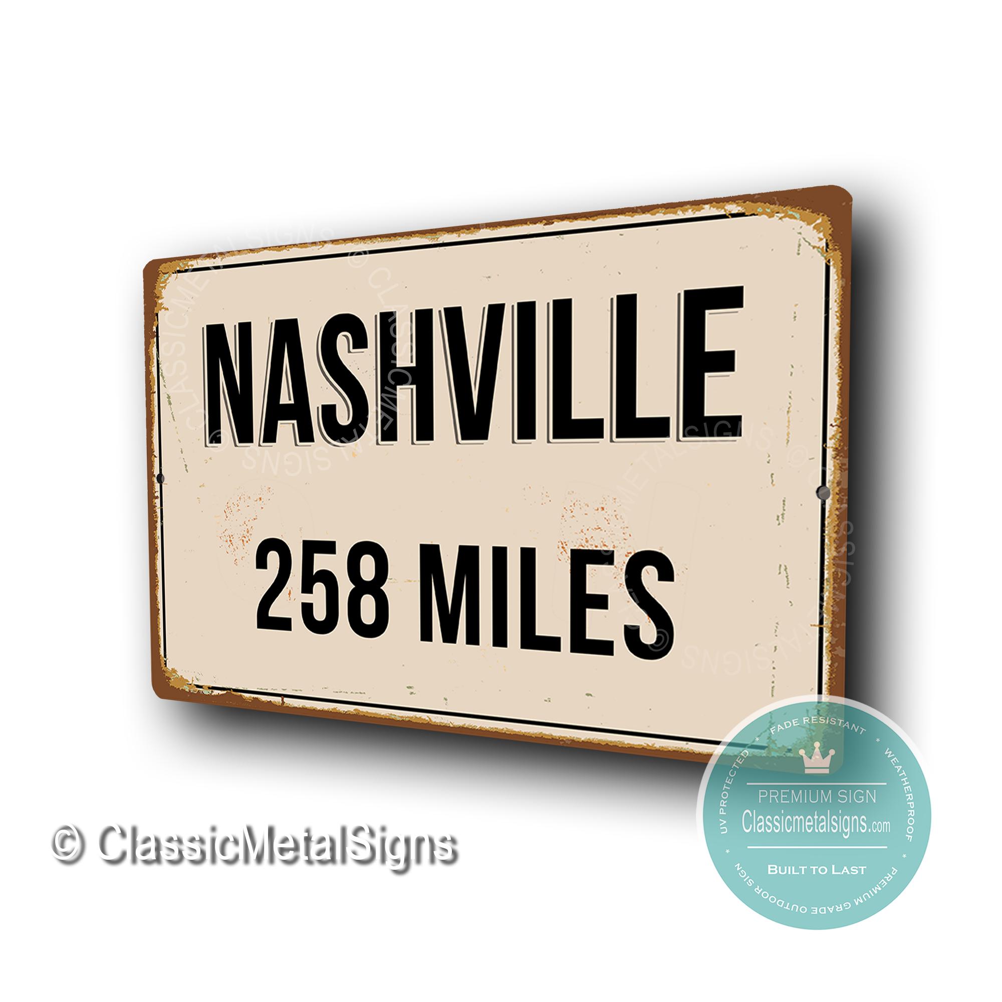Nashville Street Signs
