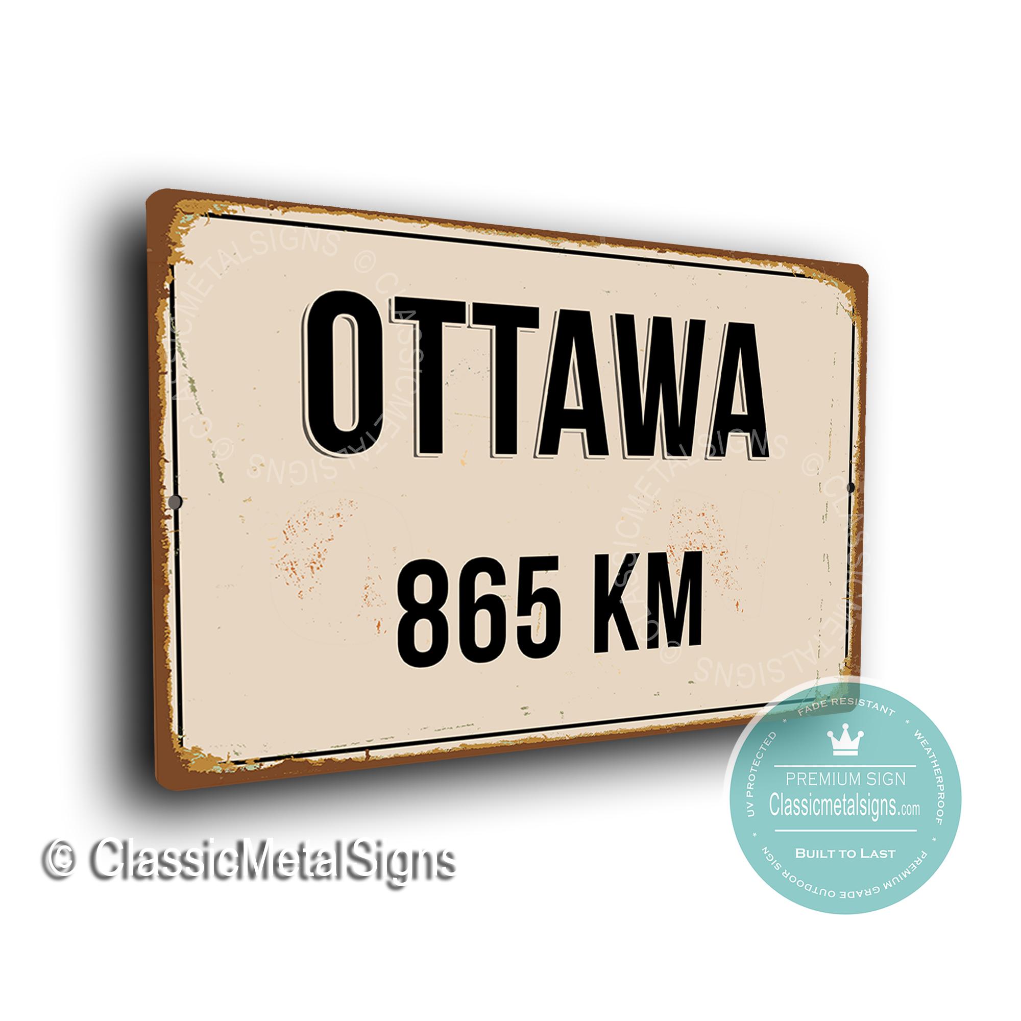 Ottawa Street Sign