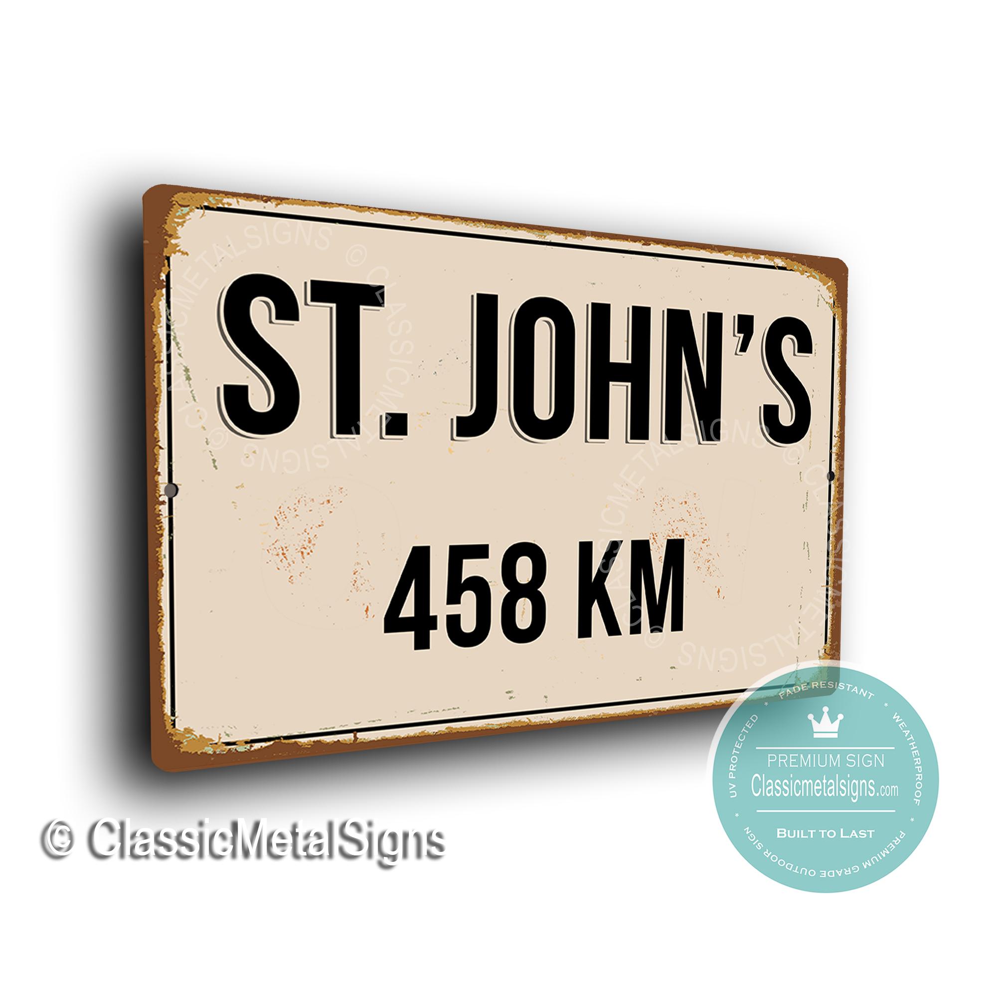 St Johns Street Sign