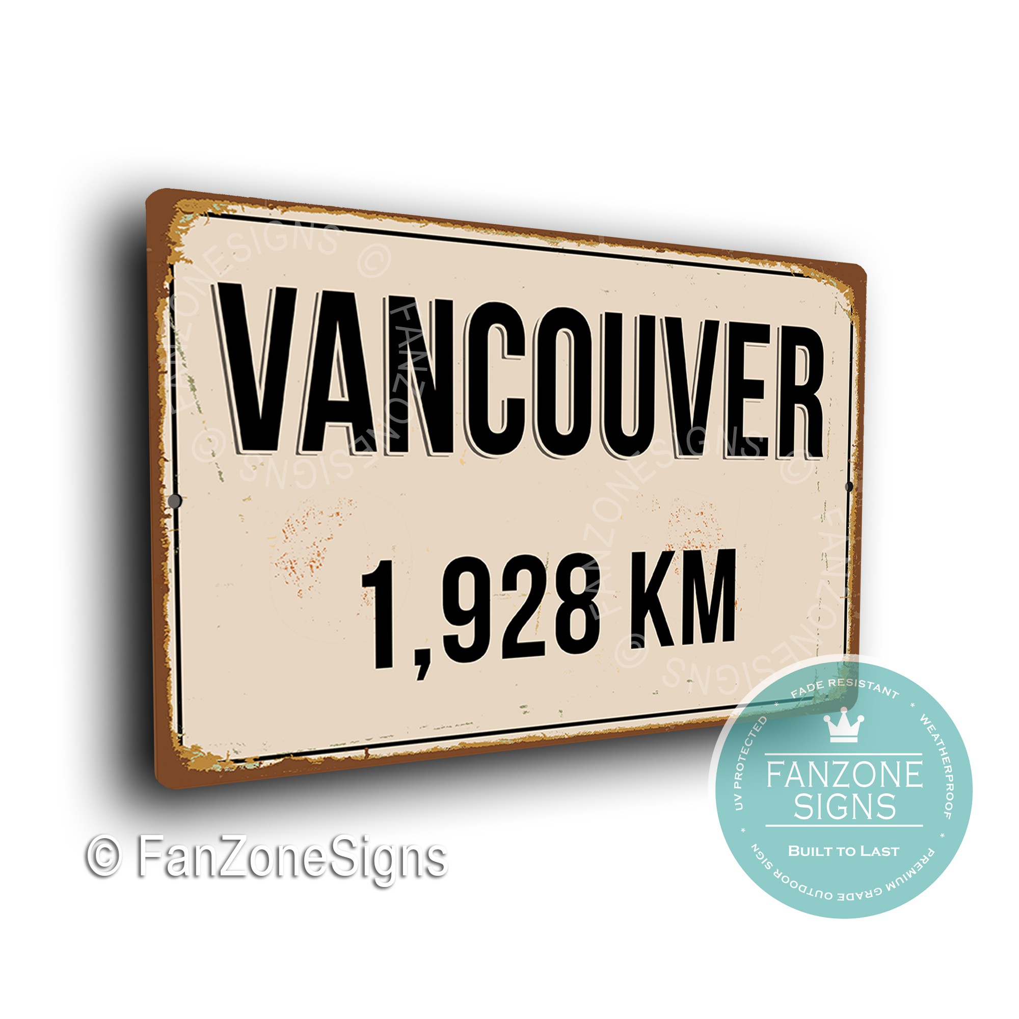 Vancouver Street Sign