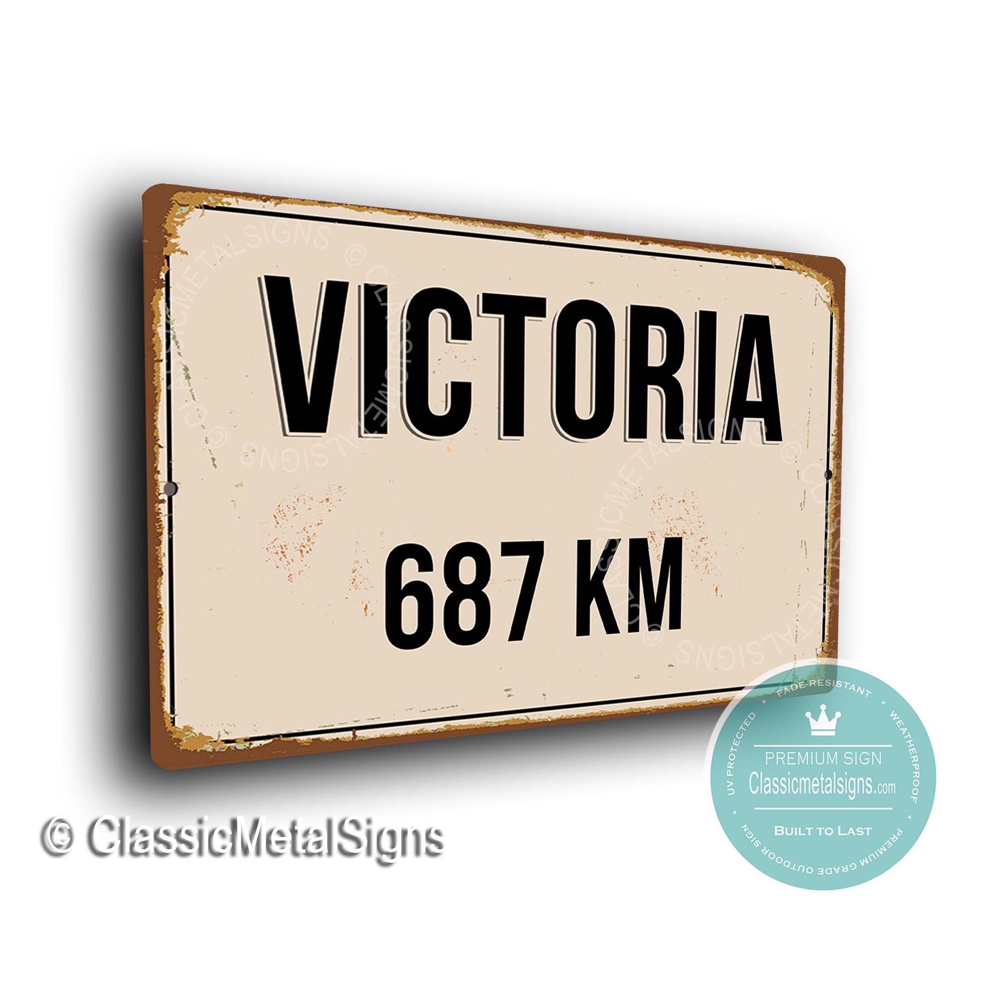 Victoria Street Sign